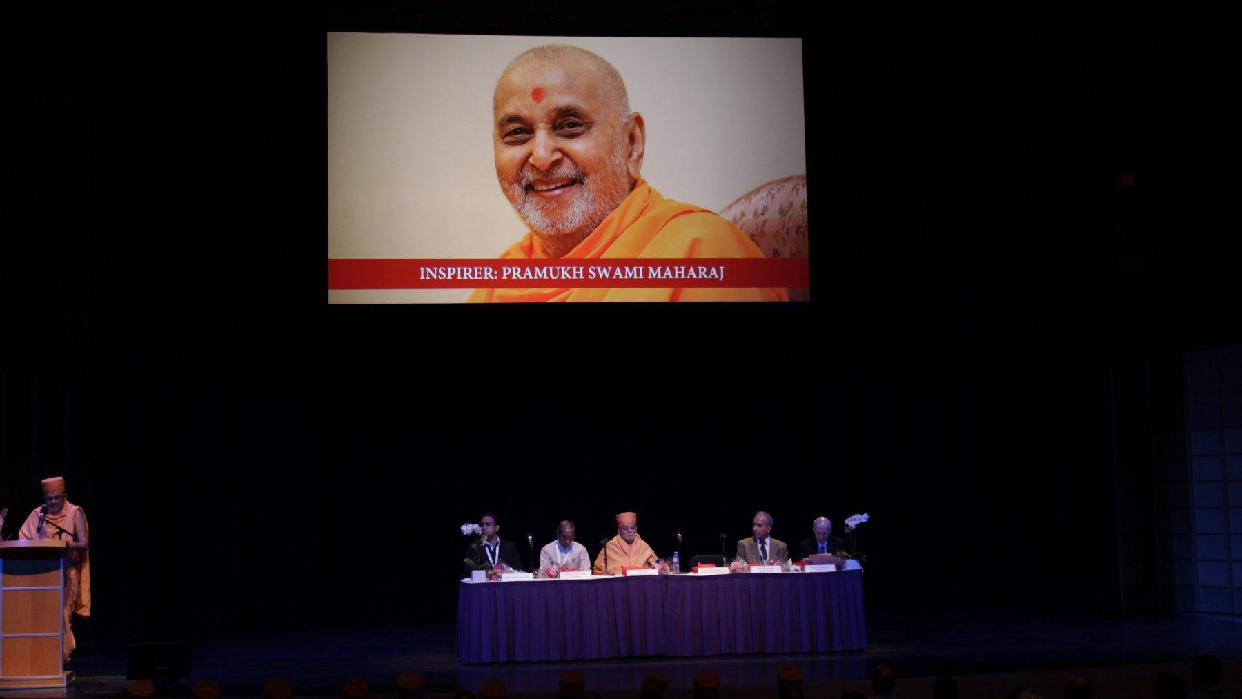 Mahamahopadhyaya Bhadreshdas Swami speaks about his guru, His Holiness Pramukh Swami Maharaj, who inspired him to write the Akshar-Purushottam Darshan